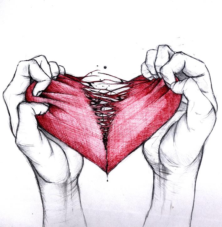 доехать рваное сердце картинки вышла замуж, этом